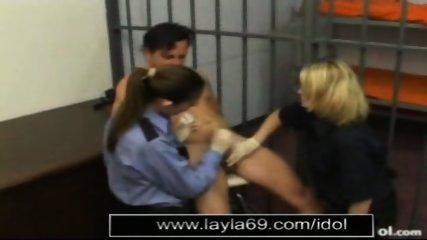Prison guard jerks off guy for sperm sample - scene 8