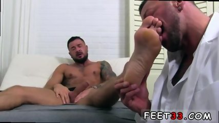 Hot gay foot ball players muscled cock Dolf s Foot Doctor Hugh Hunter