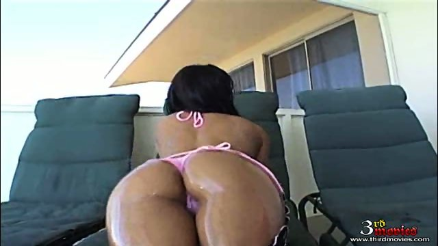 Sandra Romain from 3rdMovies gets her oily ass DPed