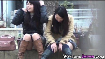 Asian hos panties filmed