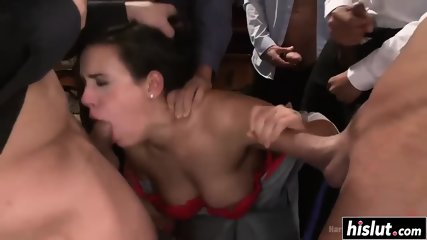 Hot Maid cleans up- Watch Part2 on upbeatporn.com