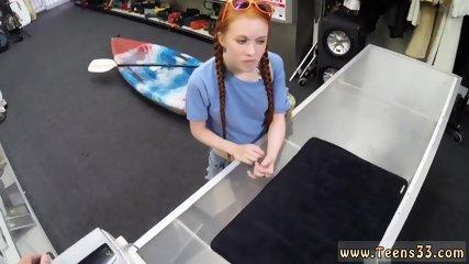 Russian Teen Fucked Hard Up Shits Creek