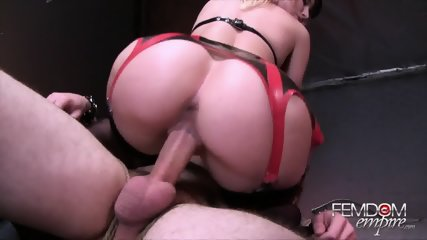Hot Blonde Fucks Her Slave - scene 6