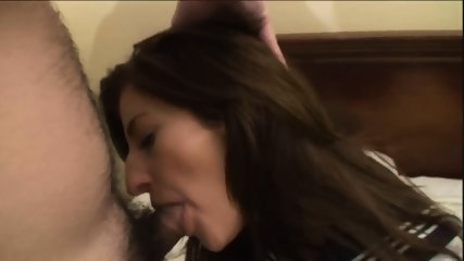 Amateur Brunette Gets Fucked And Creampied - scene 11