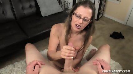 Mature Lady Needs Huge Dose Of Cum