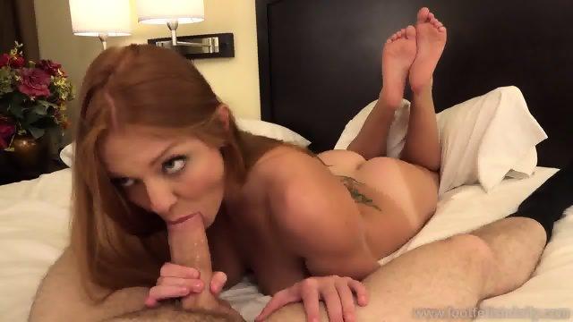 Cum On Her Playful Feet