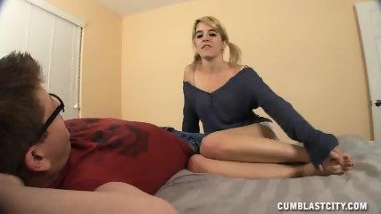 Semen On Her Small Tits - scene 2
