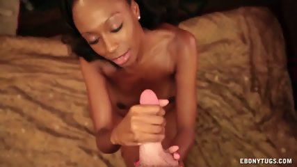 Cum On Ebony Babe's Face - scene 6