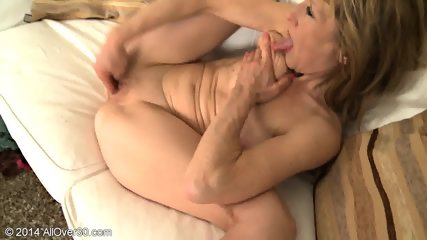 Mature Blonde With High Heels - scene 7