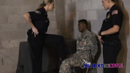 Imprisoned soldier begs for mercy as these cops subdue him at will