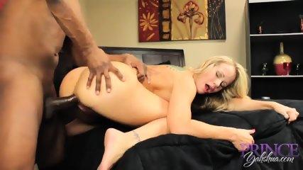 Blonde Mom Has Fun With Black Cok - scene 10