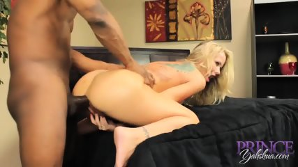 Blonde Mom Has Fun With Black Cok - scene 11