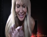 Dick In Blonde Mom's Hands