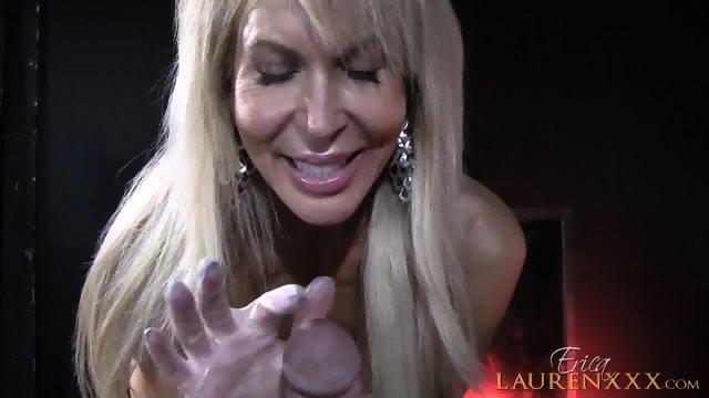 Dick In Blonde Mom's Hands