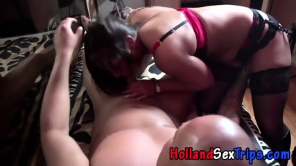 Real Hooker Swallows Cum - scene 3