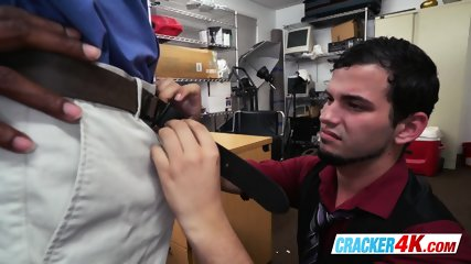 Latino guy moans like a slut once directors dick is inside