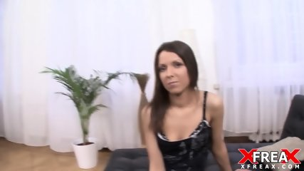 Cute Amateur Filled With Hard Dick - scene 1