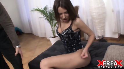 Cute Amateur Filled With Hard Dick - scene 4