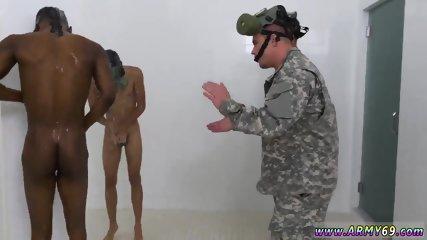 Senior gay anal sex R&R, the Army69 way