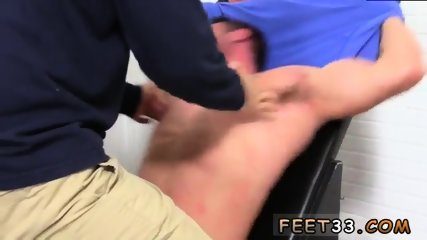 Young gay nude and sex video Casey More Jerked & Tickled