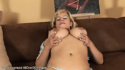Mature Lady With Big Tits In Solo Action - scene 4