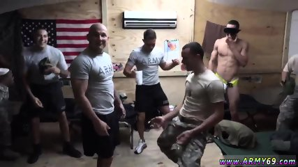 Army gay man naked nude cock The Troops came well-prepped to party!
