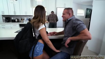 Petite teen hardcore xxx Sneaking Around With Daddy s playmate