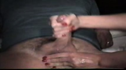 Woman jacks off passive Man - scene 5