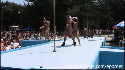 Strippers Raw And Naked In Public At Awesome Nudes A Poppin Festival Indiana - scene 11