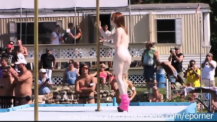 Strippers Raw And Naked In Public At Awesome Nudes A Poppin Festival Indiana - scene 2
