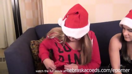 Ho Ho Ho Hot Chicks Helping Eachother With Dildos - scene 1