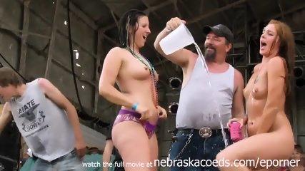 Wet And Wild Biker Chicks From Iowa - scene 4
