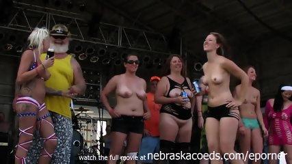 Real Biker Chicks Going Real Wild In Iowa - scene 7
