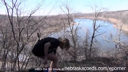 Skinny Cedar Rapids Iowa Teen Masturbating In A Local Forest - scene 8