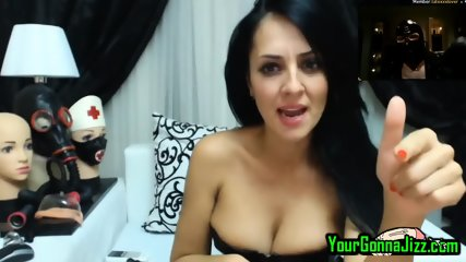 Hot Milf In Latex Watches Me Fuck To Her On Live Cam 2 Cam - scene 2