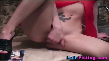 Tiny Teen Fists And Toys - scene 12