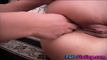 Teen Lesbian Anal Fisting - scene 6