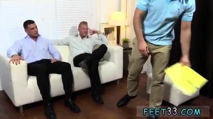 Boy feet bareback gay Ricky Worships Johnny & Joey s Feet