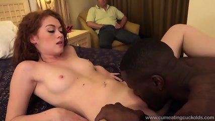 Black Dick For His Slutty Girlfriend - scene 2