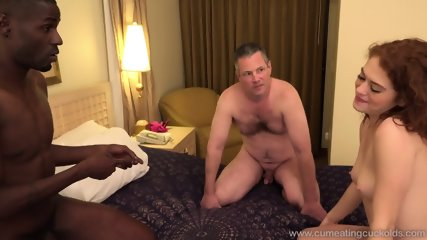 Black Dick For His Slutty Girlfriend - scene 4