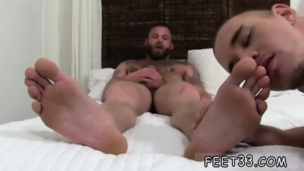 Young gay anal bare feet Derek Parker s Socks and Feet Worshiped