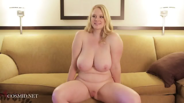 Round Girl Shows Her Body