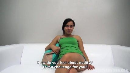European Amateur Sabina Takes Dick At The Casting - scene 3