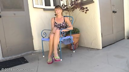 Mature Lady Takes Off Clothes - scene 2