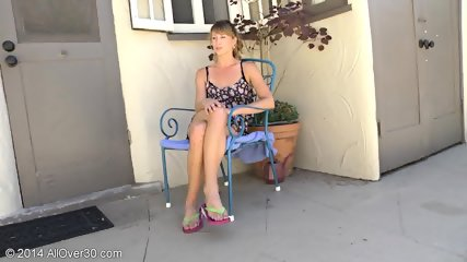 Mature Lady Takes Off Clothes - scene 3