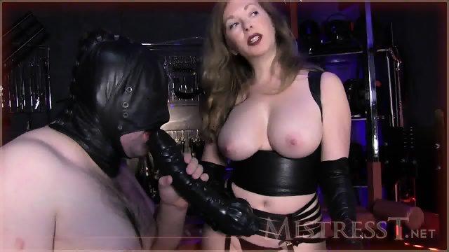 Her Slave Likes Dildos