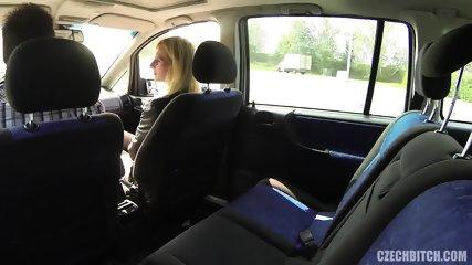 Whore Serves Customer In The Car - scene 1
