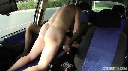Whore Serves Customer In The Car - scene 5