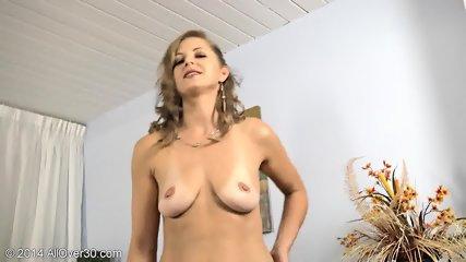Striptease By Mature Blonde Lady - scene 12