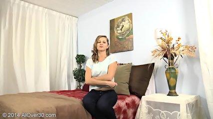Striptease By Mature Blonde Lady - scene 6